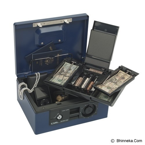 CARL Cash Box [CB-8560] - Navy Blue - Cash Box